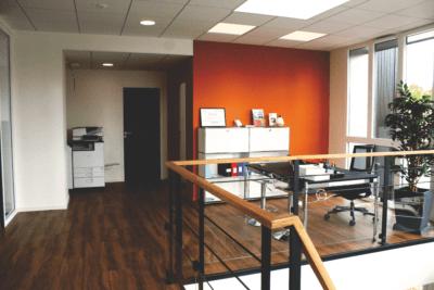 Reprise et nouveaux bureaux