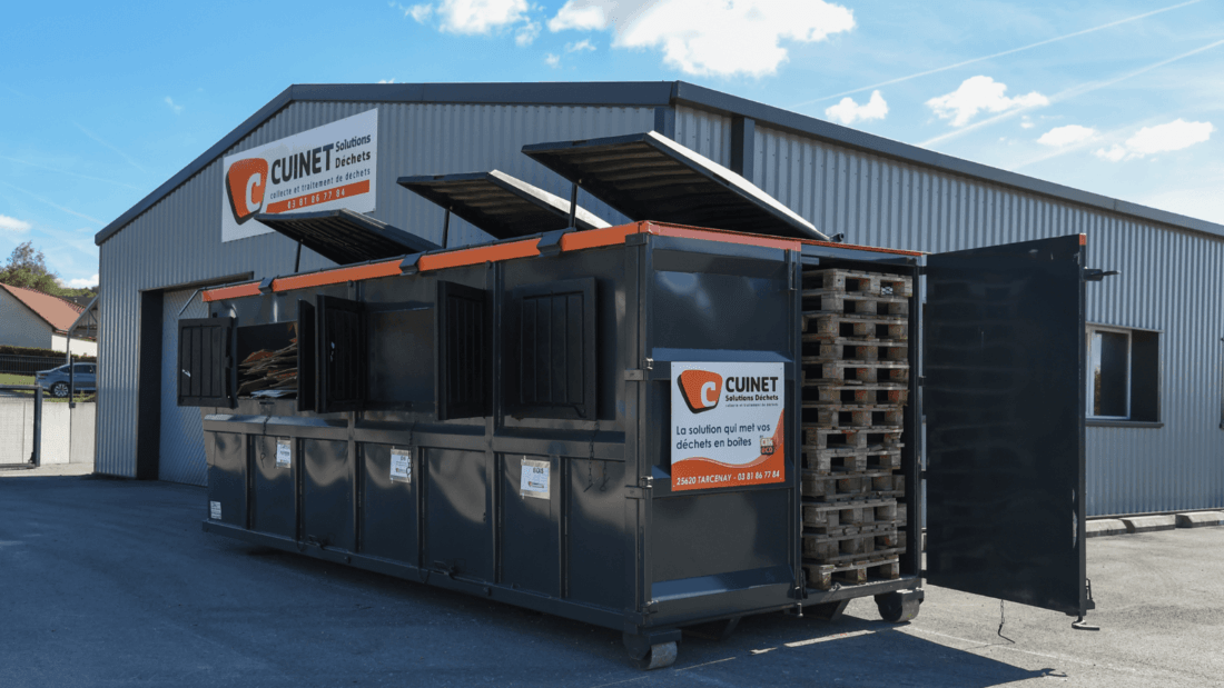Container innovant cuinet solutions déchets