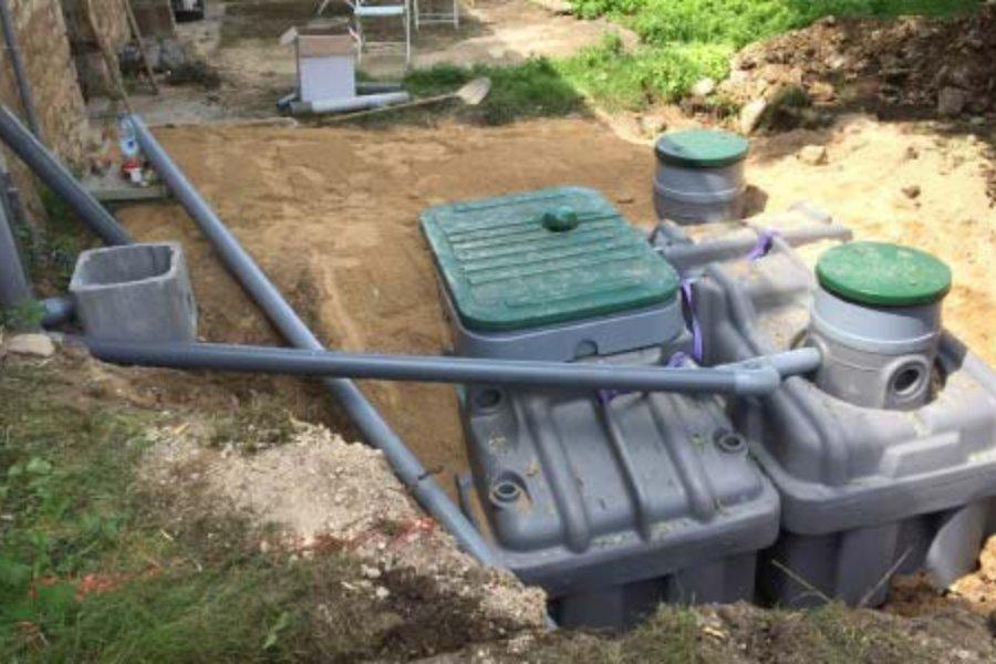 Micro Station eaux usées