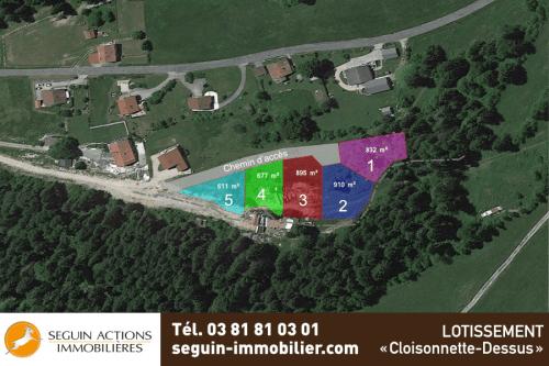 Villers Le Lac – Lotissement «Cloisonnette-Dessus»